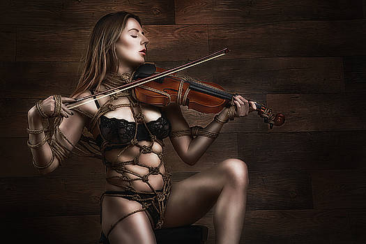 Rod Meier - Samantha Bentley/BadBentley, Violin - Fine Art of Bondage