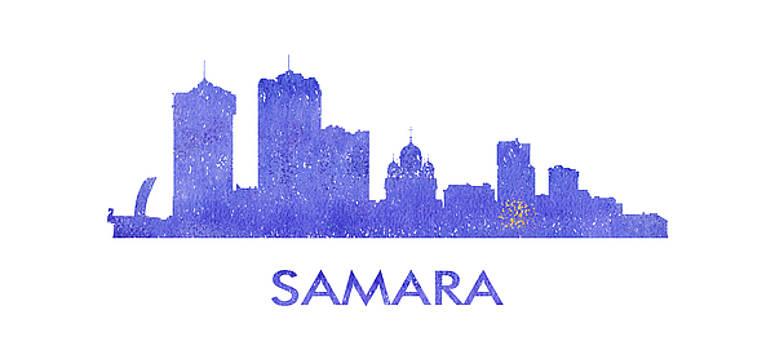 Vyacheslav Isaev - Samara  city purple skyline