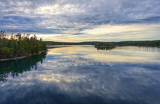 Sambro Basin I Nova Scotia by Heather Vopni