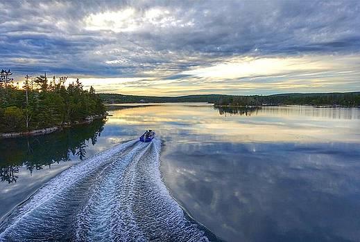 Sambro Basin II Nova Scotia by Heather Vopni