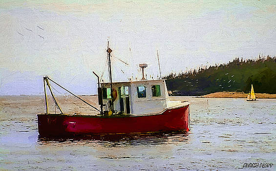 Sambro FIshing Boat by Ken Morris