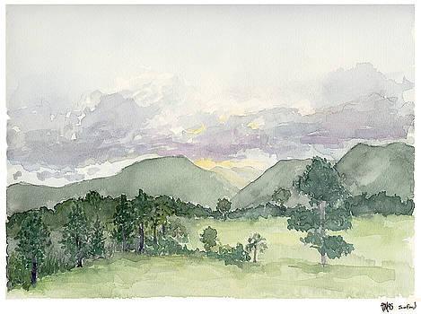 Joe Michelli - Samford Sunset