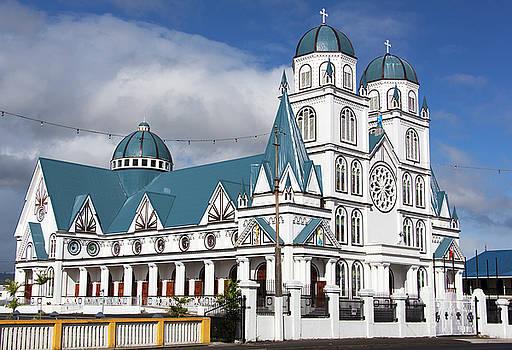 Ramunas Bruzas - Samoa Methodist Church