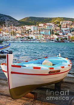 Samos Boat by Inge Johnsson