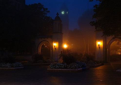 Sample Gates in the Fog by Jon Benson
