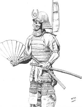 Samurai in Armour by Reppard Powers