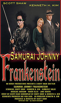 Samurai Johnny Frankenstein by The Scott Shaw Poster Gallery