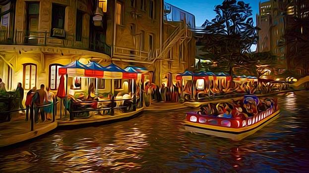 Larry Lamb - San Antonio River Walk