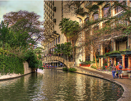 San Antonio Riverwalk by Brian Kinney