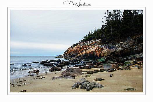 Sand Beach by Norma Warden