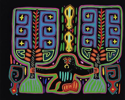 San Blas I by Pat Saunders-White