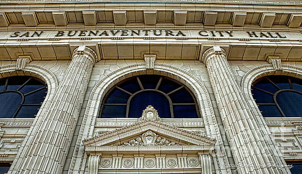 San Buenaventura City Hall by John A Rodriguez