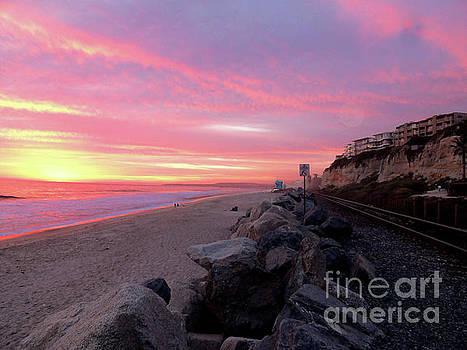 San Clemente at Sunset by Robert Ball