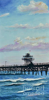 San Clemente Evening by Mary Scott