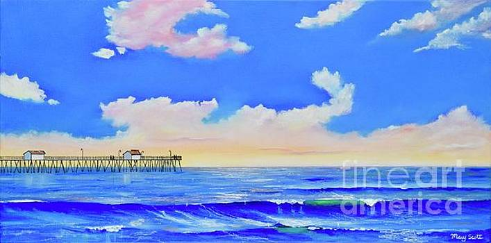 San Clemente Morning Light by Mary Scott