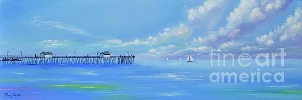 San Clemente Ocean by Mary Scott