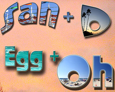 San D Egg Oh by Christopher Woods