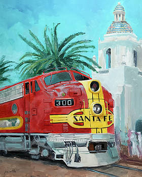 San Diegan on Liberty by Joe White