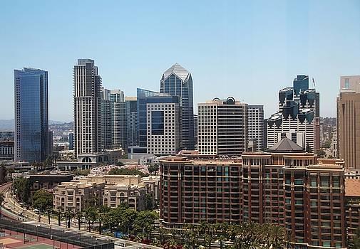 San Diego Cityscape by Michiale Schneider