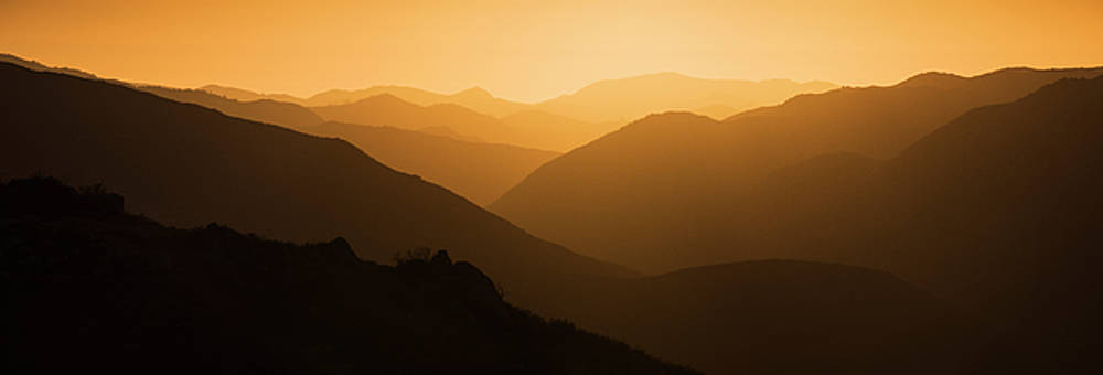 San Diego Foothills Sunset by William Dunigan