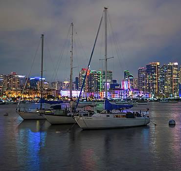 Robert VanDerWal - San Diego Harbor July 4th Squared