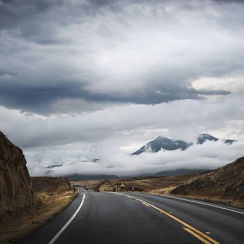 San Diego Mountain Clouds by William Dunigan