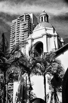 San Diego Skyline by Samuel M Purvis III
