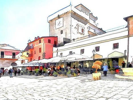 Giuseppe Cocco - San Felice Circeo restaurant in the  square