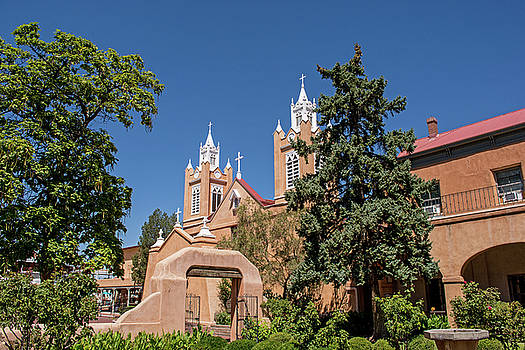 San Felipe de Neri Church 2 by Allen Sheffield