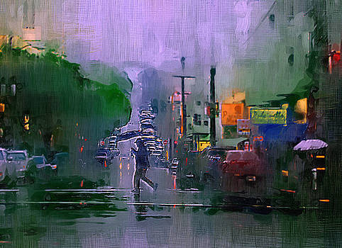 Robert Bissett - San Fran in the Rain