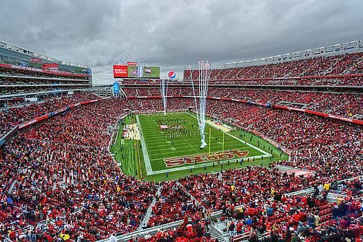 San Francisco 49ers Levi's Stadium by Mark Whitt