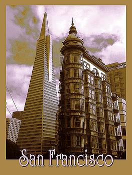 Peter Potter - San Francisco Architecure Poster