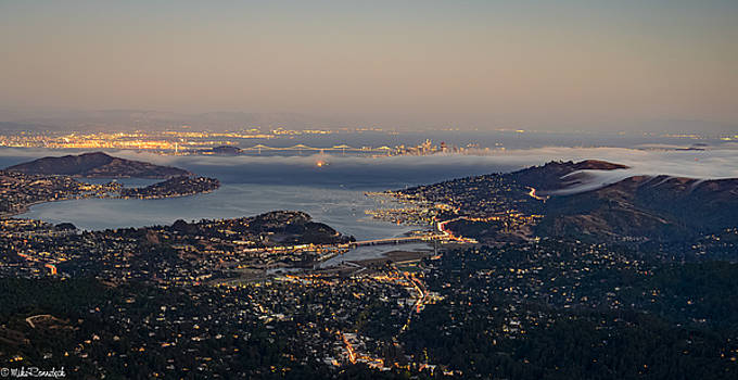 San Francisco Bay Area by Mike Ronnebeck