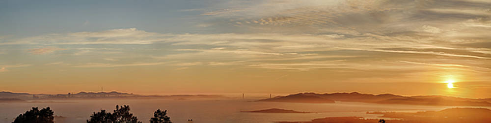 San Francisco Bay area panorama by Digiblocks Photography