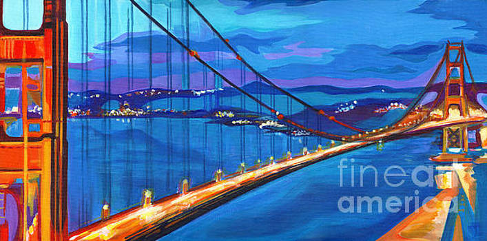 San Francisco Bay Blues  by Tanya Filichkin