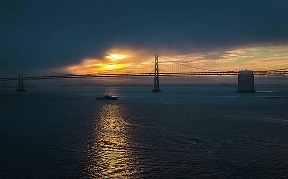 Rosemary Woods-Desert Rose Images - San Francisco Bay Bridge at Sunrise-IMG_0093