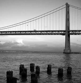 San Francisco Bay Bridge by Mandy Wiltse