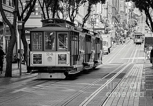 San Francisco Cable Cars by Eddie Yerkish