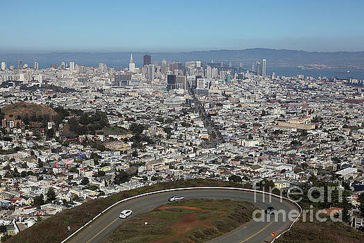 San Francisco California From Twin Peaks 5D28034 by San Francisco
