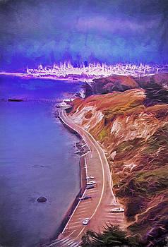 Steve Ohlsen - San Francisco from Golden Gate Bridge 2