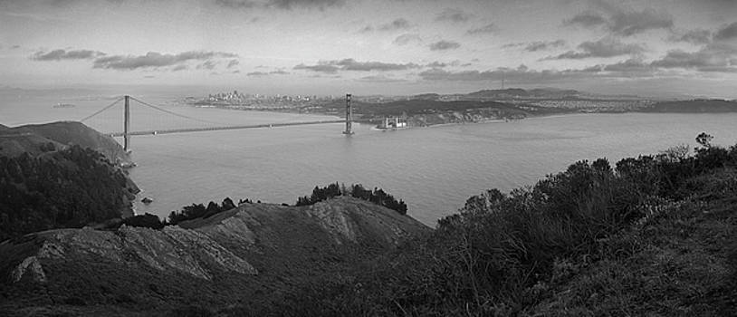 San Francisco from Marin Headlands by Nathan Spotts