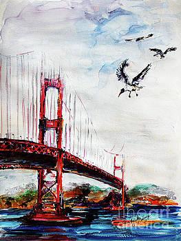 Ginette Callaway - San Francisco Golden Gate Bridge