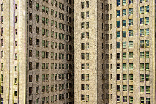 San Francisco High Rise Abstract by Bill Gallagher