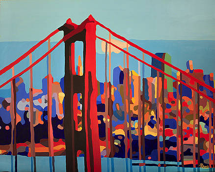 San Francisco In Color by Tracy Dupuis Roland