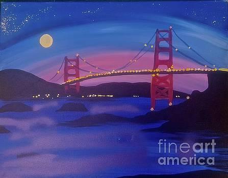 San Francisco Lights by Tony B Conscious