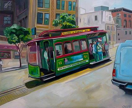 San Francisco Municipal Railway by Carmen Stanescu Kutzelnig