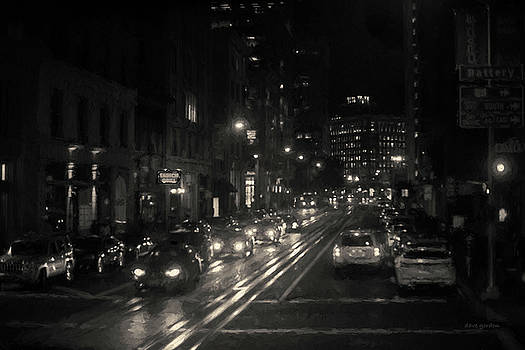 David Gordon - San Francisco Night I Toned