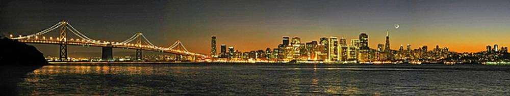 San Francisco Night Pano by Keith Marsh