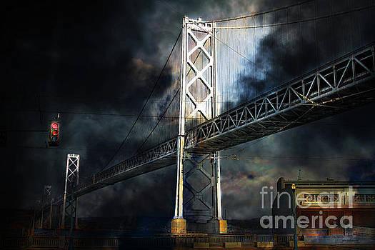 Wingsdomain Art and Photography - San Francisco Nights At The Bay Bridge . 7D7748