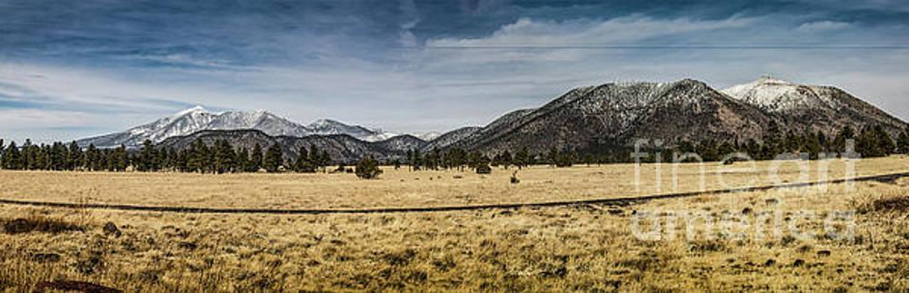 San Francisco Peaks, Arizona by Thomas Marchessault